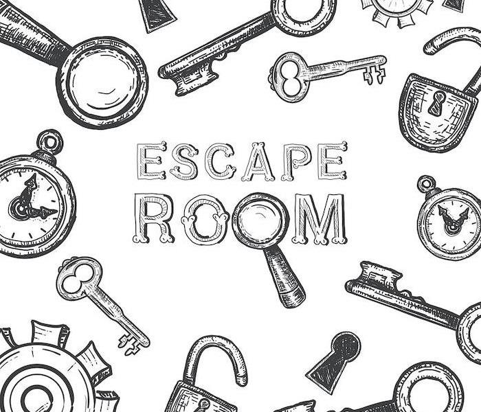 """Escape room"" with keys"
